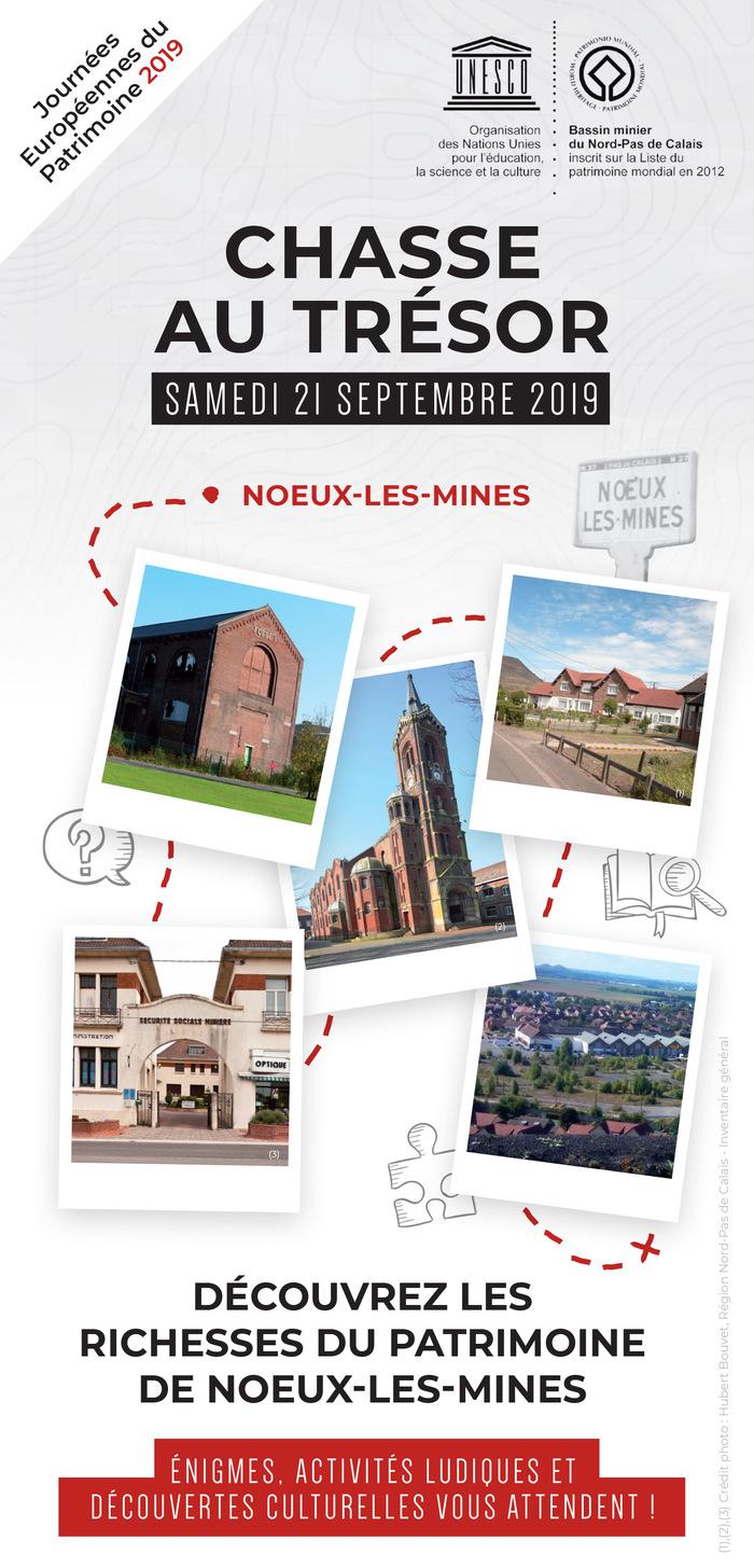 Journées du patrimoine 2019 - Chasse au Trésor dans les rues de Noeux