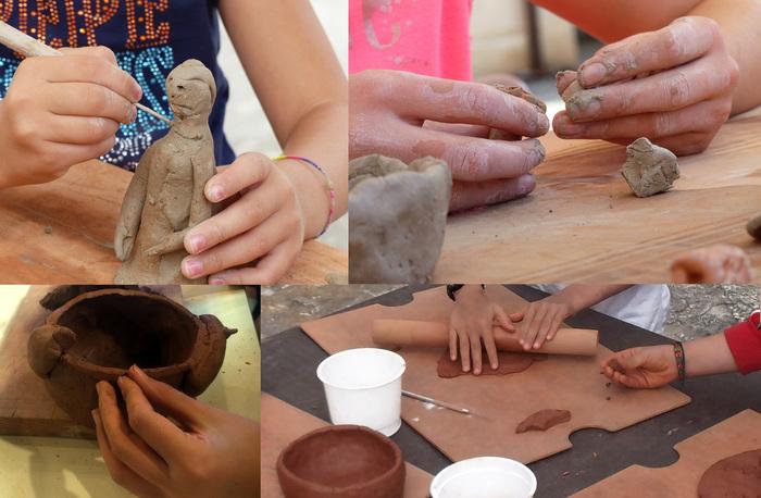 Journées du patrimoine 2020 - Atelier enfants de modelage et décoration