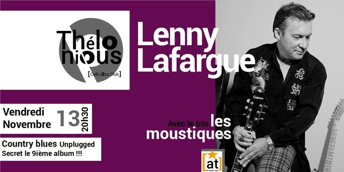 LENNY LAFARGUE – THELONIOUS CAFE JAZZ CLUB
