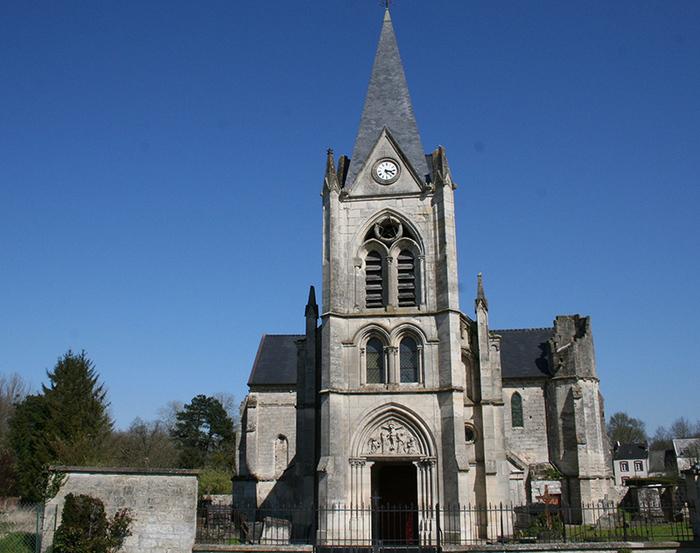 Journées du patrimoine 2020 - Visite libre de l'église de Laval-en-Laonnois