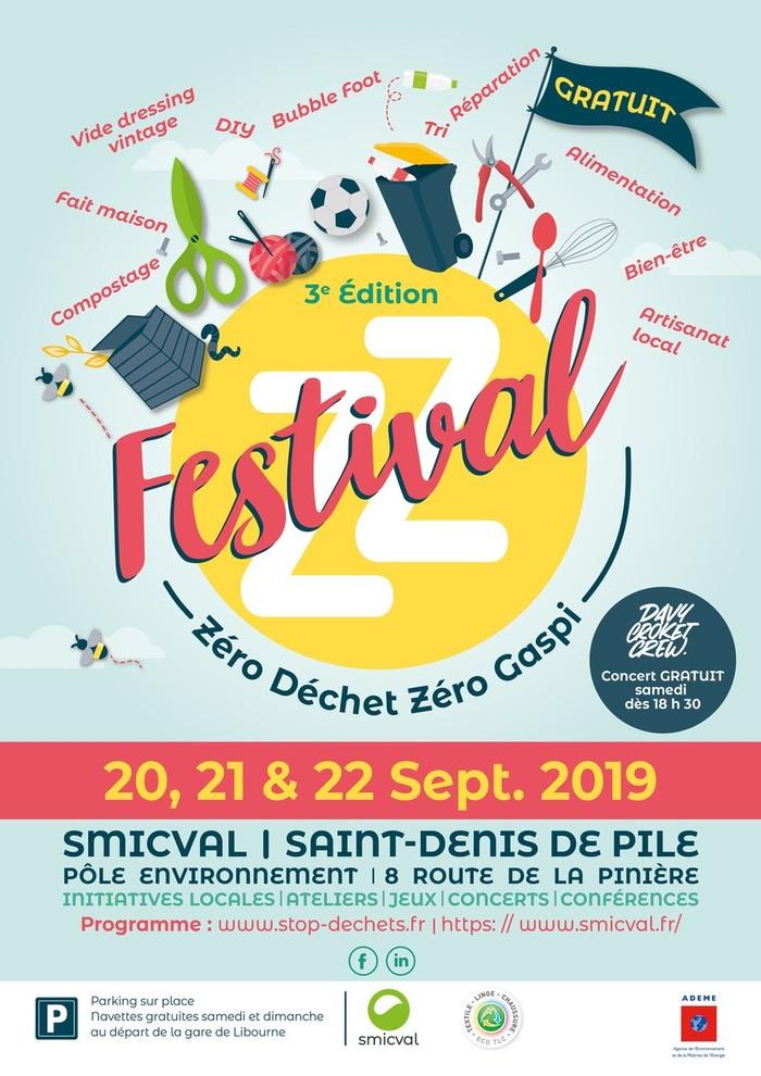 Journées du patrimoine 2019 - Festival Zéro Déchet Zéro Gaspillage - SMICVAL