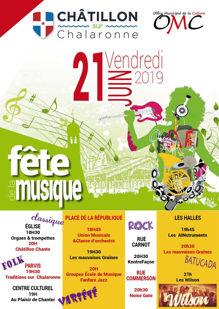 Fête de la musique 2019 - Orgues et trompettes / Choeur