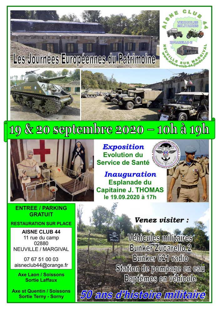 Journées du patrimoine 2020 - Visite du bunker OKW ZUCARELLO 2 - Camp de Margival