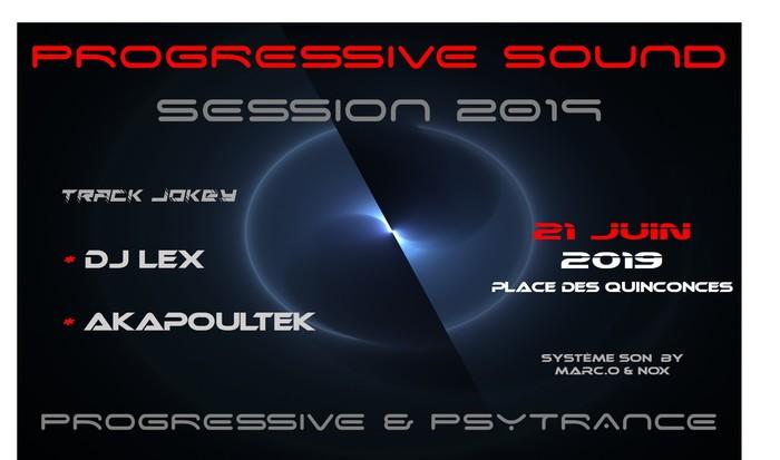 Fête de la musique 2019 - Progressive Sound Session