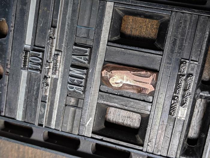 Journées du patrimoine 2019 - Ateliers linogravure et typographie