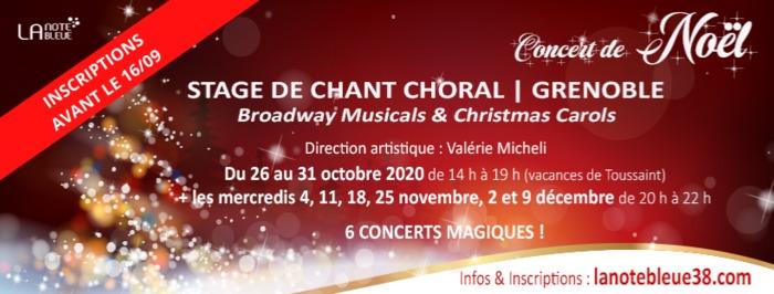 Concert de noël - Broadway Musicals & Christmas Carols