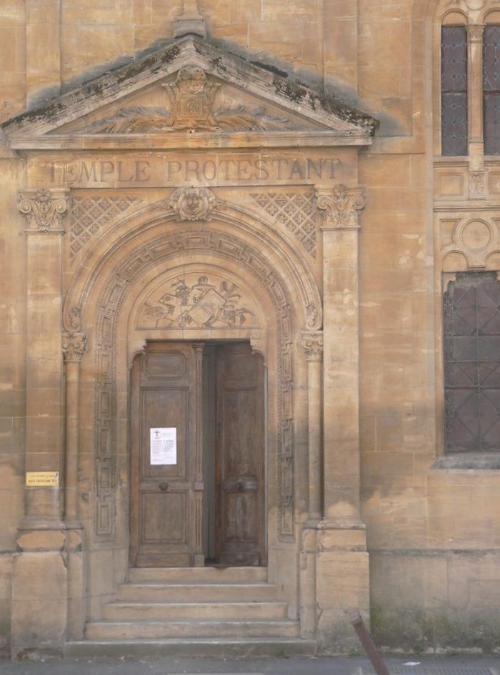 Journées du patrimoine 2019 - Visite libre Temple Protestant