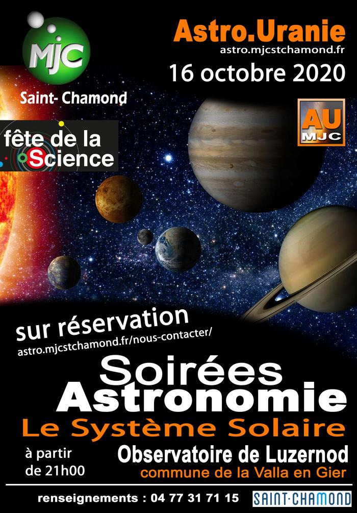 Soirée astro : le système solaire