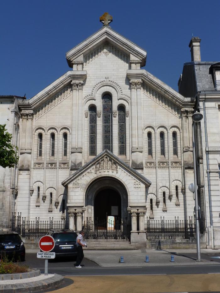 Journées du patrimoine 2020 - Portes ouvertes au temple protestant de Saintes