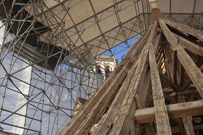 Journées du patrimoine 2020 - Rencontre avec le chantier de la Rose - Présentation extérieure de l'actualité du chantier