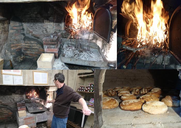 Journées du patrimoine 2019 - Démonstration du four à pain de Bréville les Monts