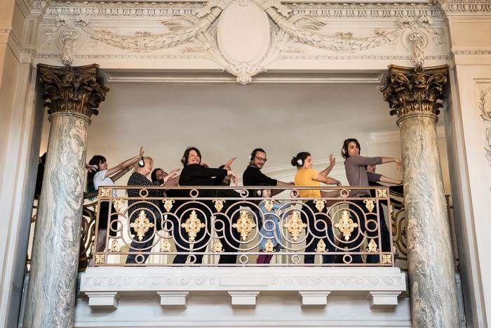 Journées du patrimoine 2020 - ¡Manif Feliz! - David Rolland - déambulation ludique