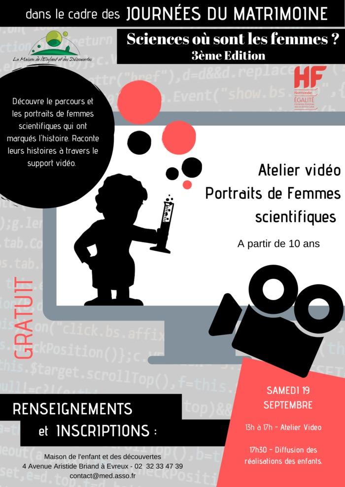 Journées du patrimoine 2020 - Animation jeune public :