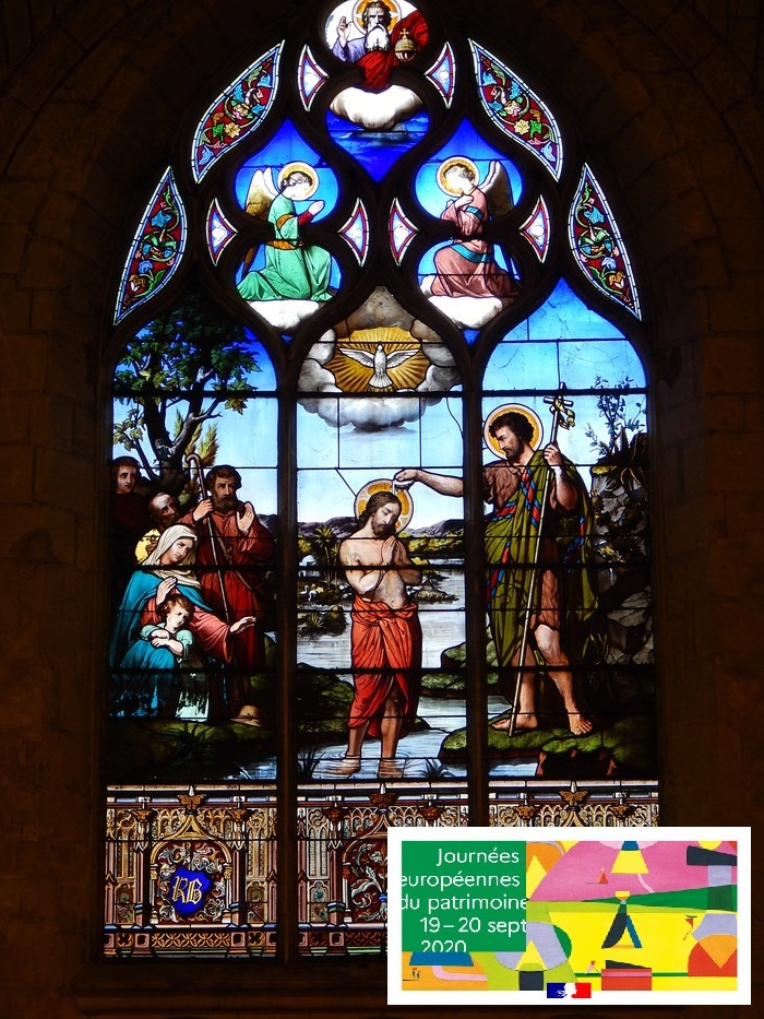 Journées du patrimoine 2020 - Eglise Saint-Jean-Baptiste