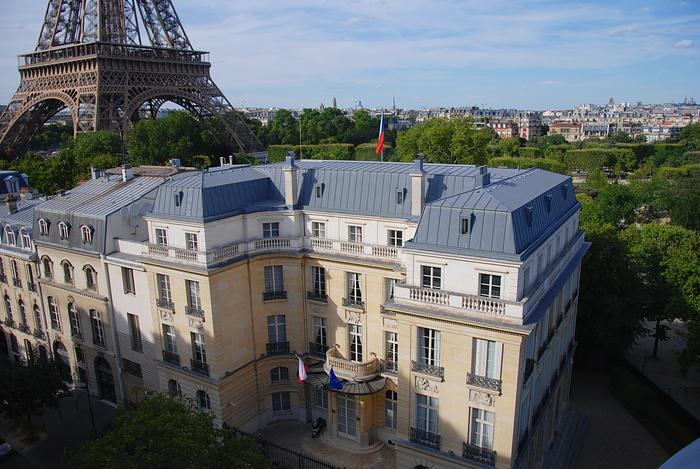 Journées du patrimoine 2020 - ANNULÉ - Visite libre des salles et du jardin de l'ambassade