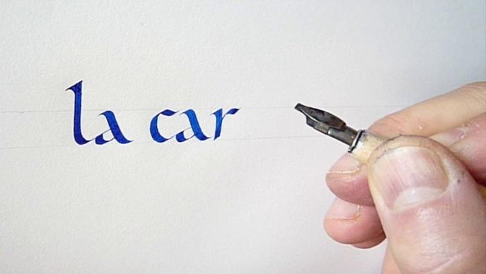 Journées du patrimoine 2020 - Atelier calligraphie