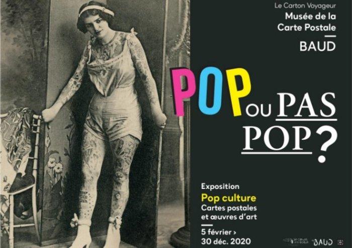 Journées du patrimoine 2020 - Pop ou pas pop ? Pop culture, cartes postales et oeuvres d'art