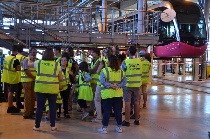 Journées du patrimoine 2019 - Visite des Ateliers André Gervais - Centre d'exploitation et de maintenance DiviaMobilités
