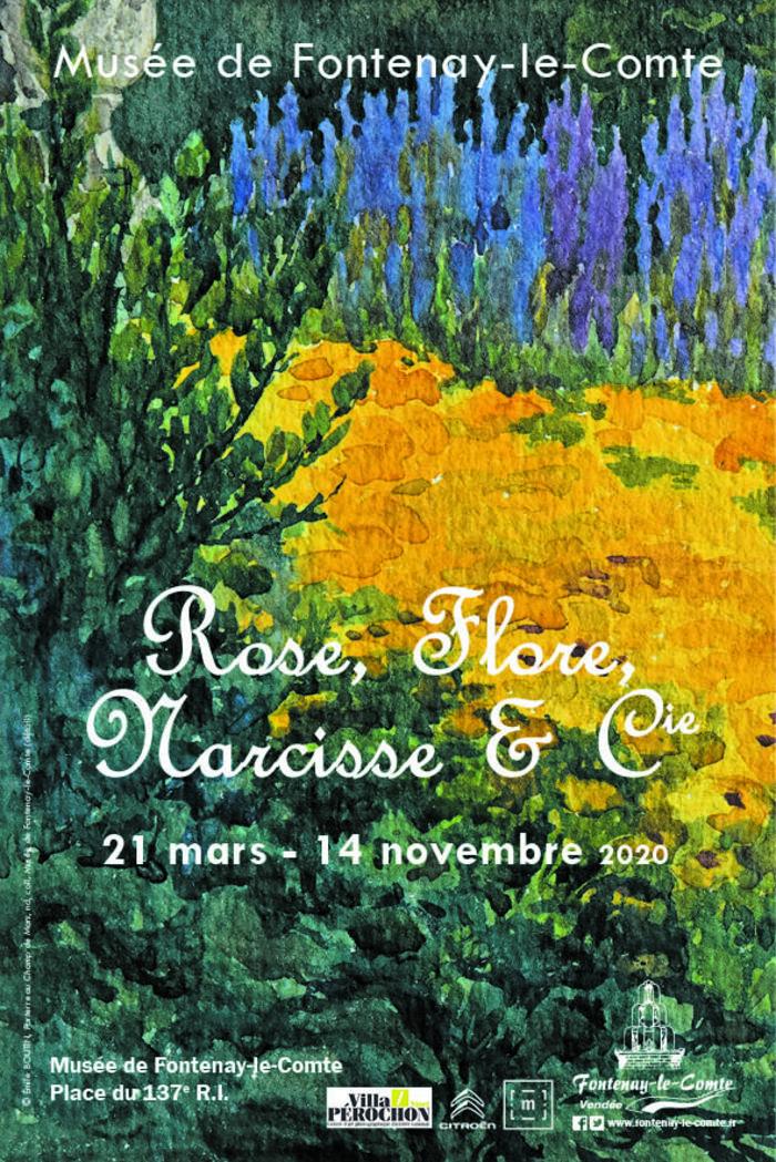 Journées du patrimoine 2020 - Exposition : Rose, Flore, Narcisse et Cie
