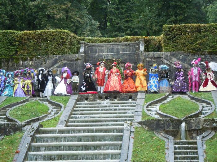 Journées du patrimoine 2020 - Les Costumés de Venise au château du Touvet