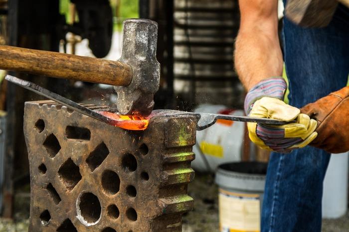 Journées du patrimoine 2019 - Démonstration des métiers de la forge