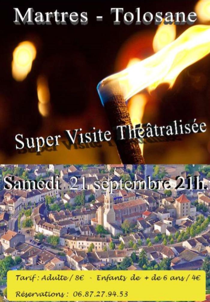 Journées du patrimoine 2019 - Super visite théâtralisée