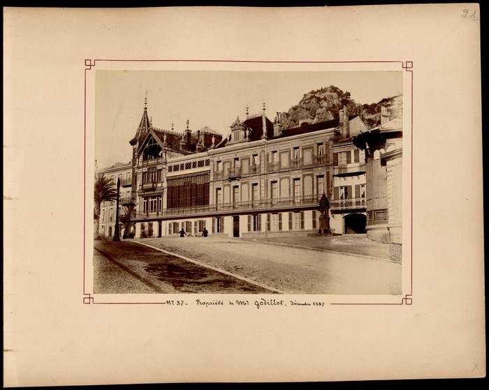 Journées du patrimoine 2019 - Hyères et ses environs, 1887-1889