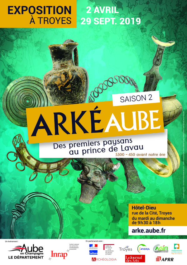 Nuit des musées 2019 -Visite nocturne à l'exposition ArkéAube