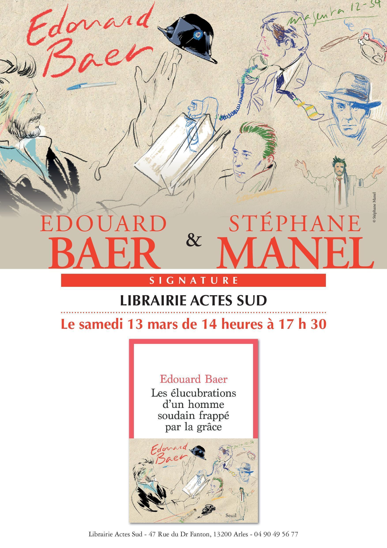 Un monologue dans lequel Edouard Baer, après avoir fui hors du théâtre où il devait jouer André Malraux, confie ses faiblesses, ses obsessions et évoque les personnalités qui l'inspirent.