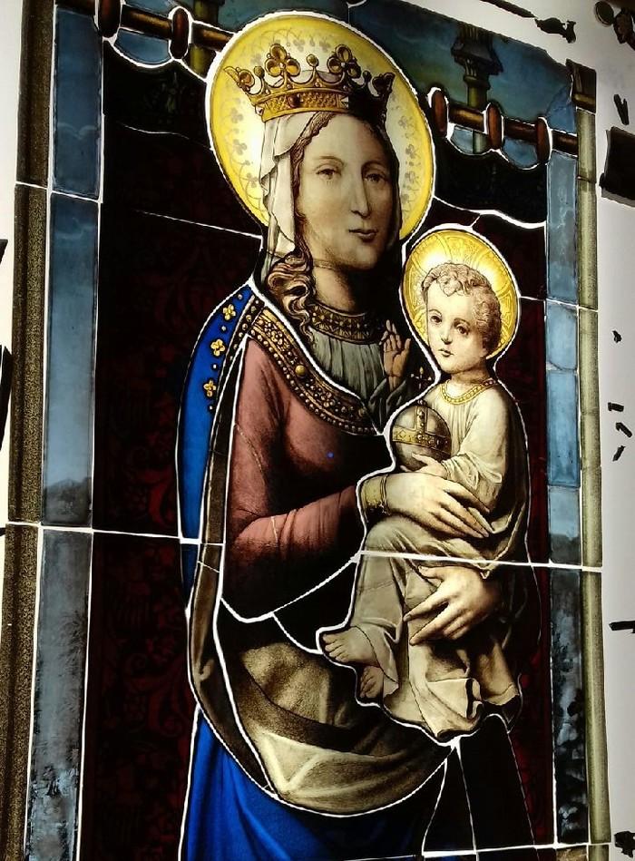 Journées du patrimoine 2019 - Visite libre de l'église de Ste Opportune la mare avec commentaires sur restauration du vitrail