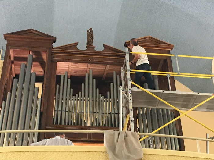 Journées du patrimoine 2019 - Visite du chantier des orgues de Roussillon