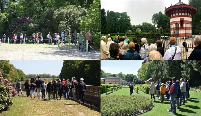 Journées du patrimoine 2019 - Visite guidée du parc et de l'exposition au château