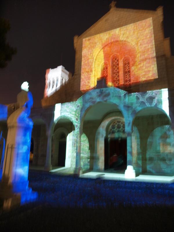 Nuit des musées 2019 -Mise en lumière de la façade