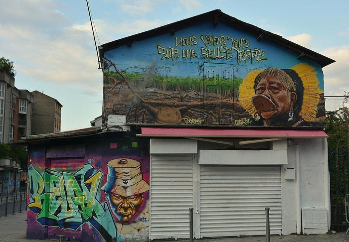 Journées du patrimoine 2019 - Visite des graffitis aux Puces de Saint-Ouen