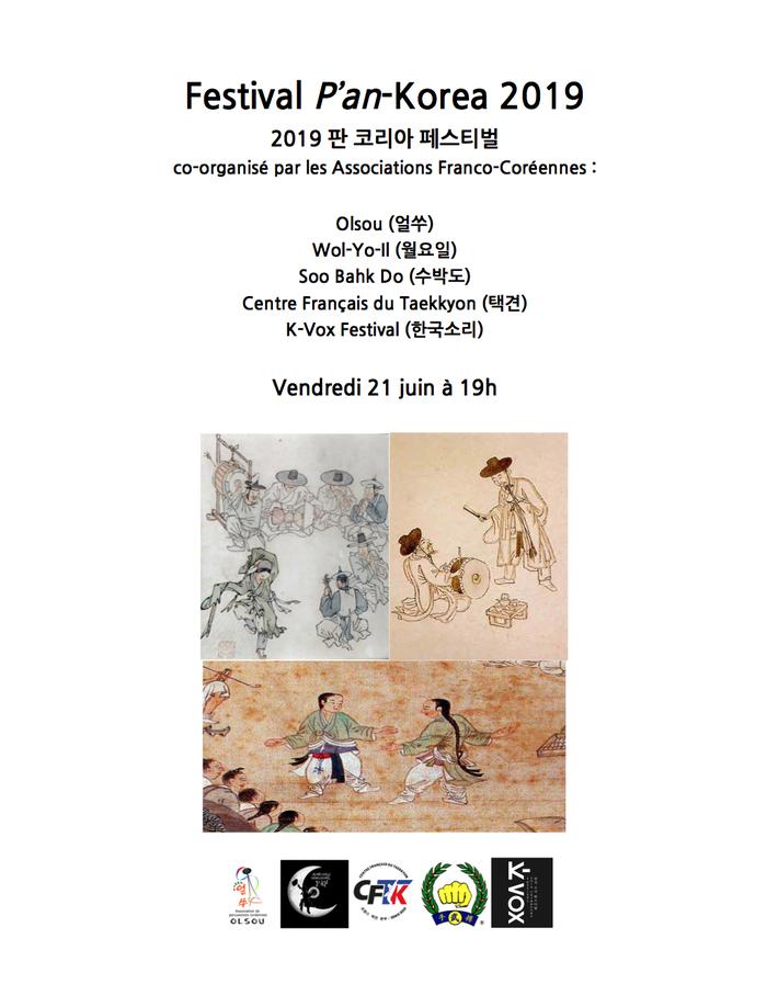 Fête de la musique 2019 - Festival P'an-Korea 2019, Culture Traditionnelle Coréenne