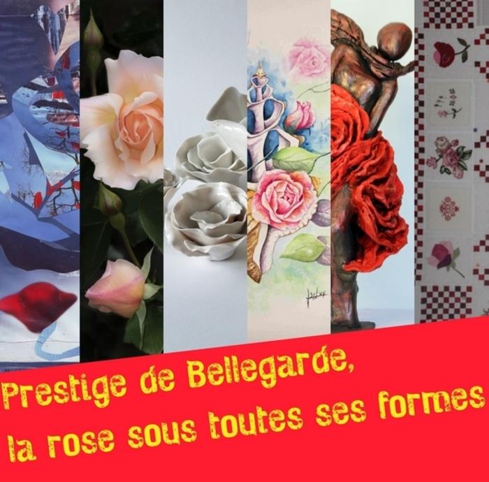 Exposition artistique et sensorielle autour de la rose.
