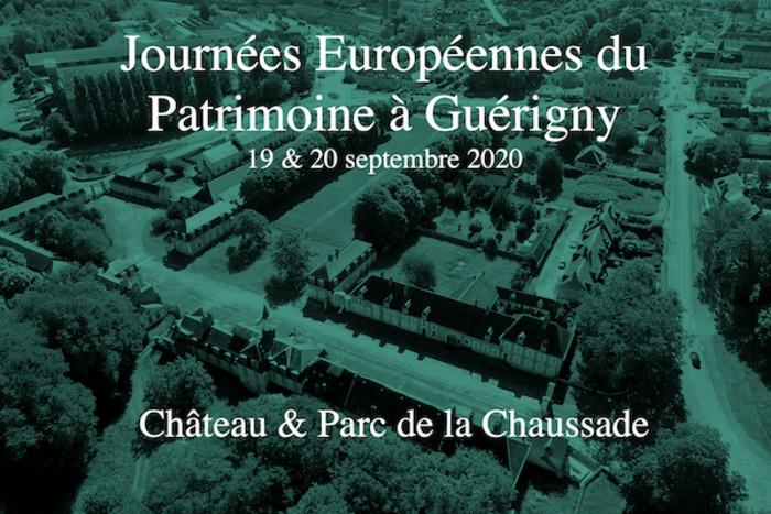 Journées du patrimoine 2020 - Visite guidée du château et du parc de la Chaussade