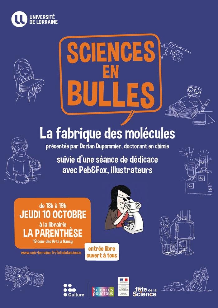 """Rencontre chimique autour de la bande-dessinée """"Sciences en bulles"""""""
