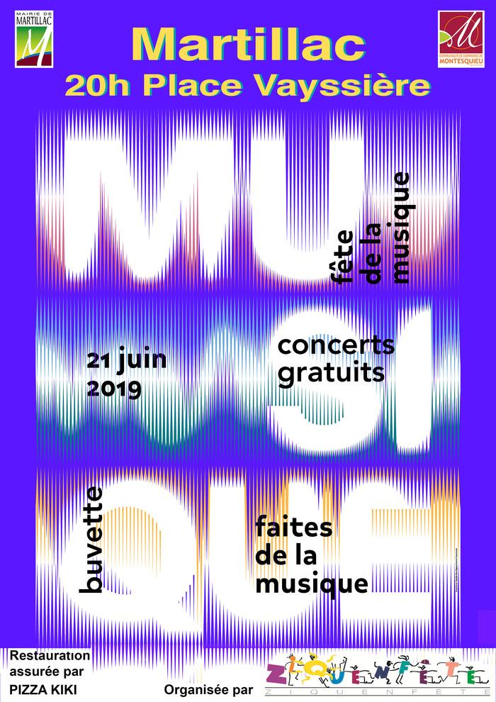 Fête de la musique 2019 - Des voix, des instruments, du rythme, un esprit festif....