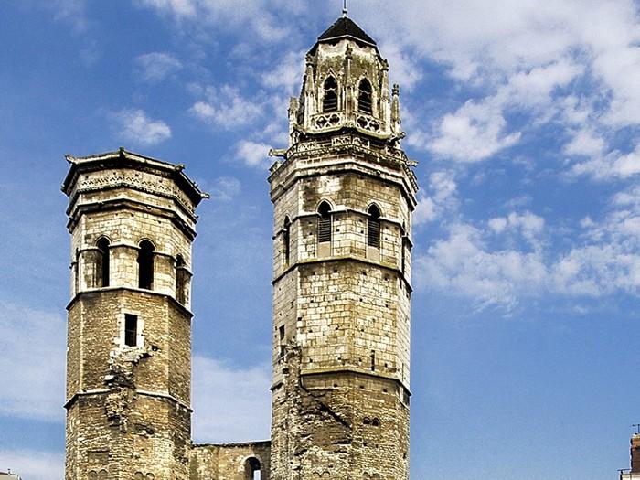 Journées du patrimoine 2020 - Découvrez l'église du vieux Saint-Vincent.
