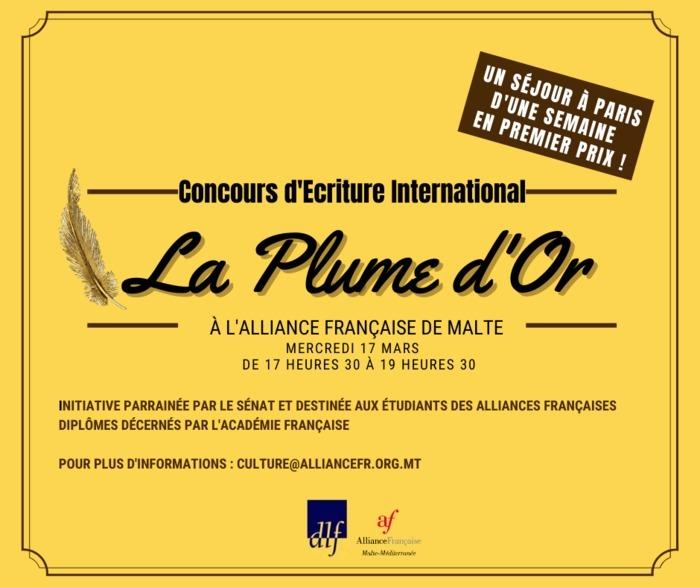 Concours de La Plume d'Or
