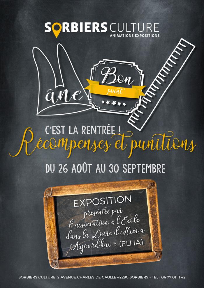 Journées du patrimoine 2019 - Exposition « Récompenses et punitions »