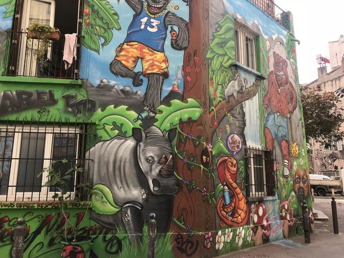 Journées du patrimoine 2019 - Visite en famille : Parcours Street Art