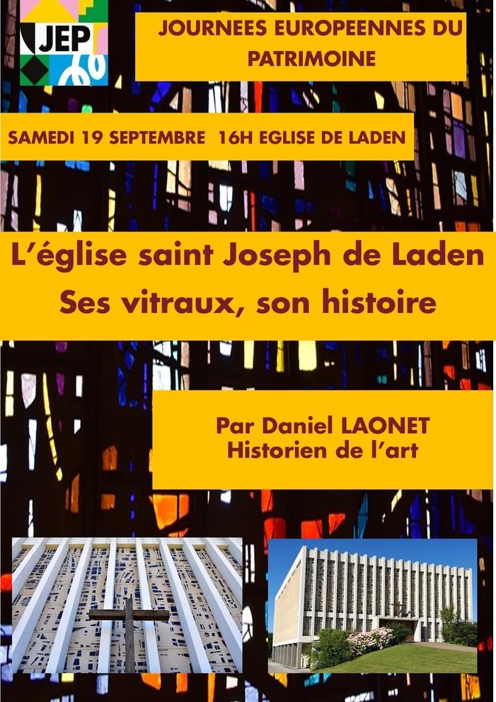 Journées du patrimoine 2020 - Visite guidée de l'église et ses vitraux