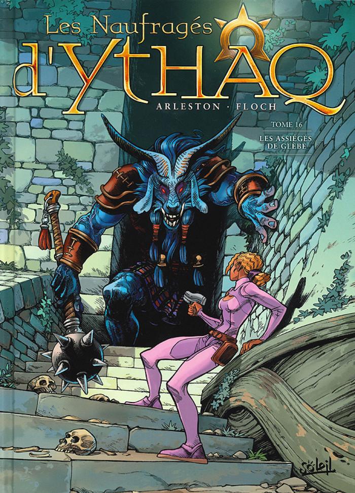 Le dessinateur Adrien Floch vient à l'occasion de la sortie de son 16e Tome de Naufragés d'Ythaq.