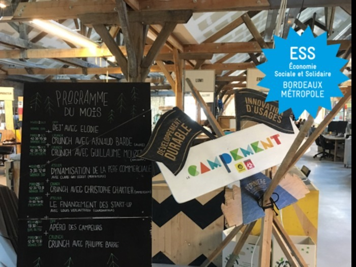 TOUR DE L'ESS 2020 – Visite « Le Campement : un nid de start-up innovantes »