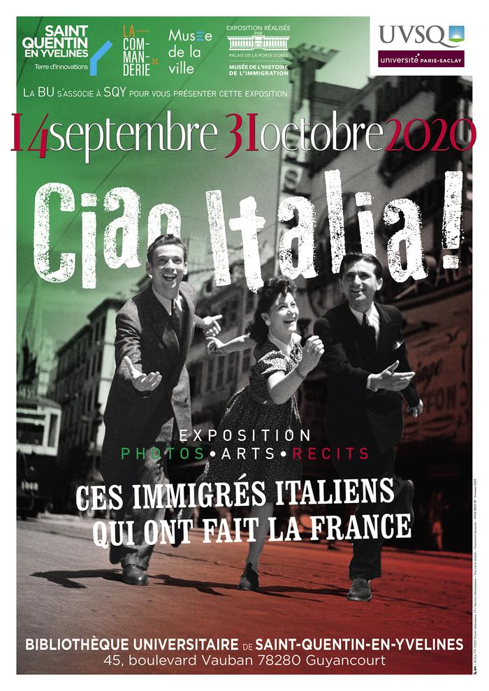 Journées du patrimoine 2020 - ANNULÉ - Exposition Ciao Italia !