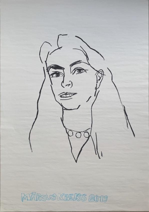Marcus Kreiss dessine ses muses en direct le 10 octobre et votre portrait le 12 octobre