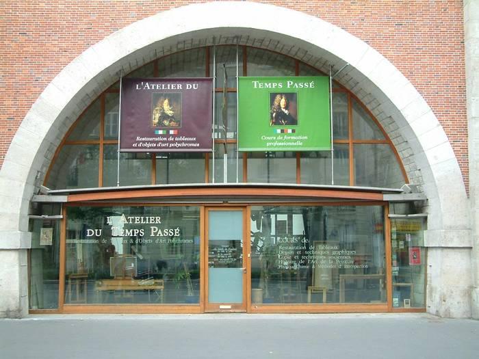 Journées du patrimoine 2019 - Atelier du Temps Passé - 20 ans de Restauration d'Oeuvres d'Art au Viaduc des Arts