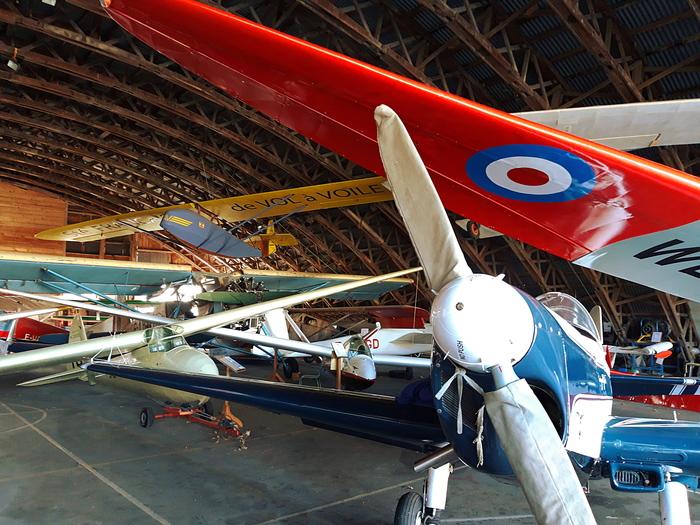 Journées du patrimoine 2020 - Visite libre du musée d'aviation, visite guidée à la demande